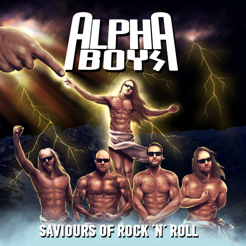 Alpha Boys - Saviours of Rock