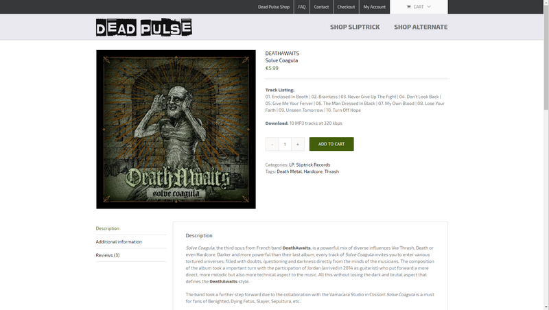 Introducing SHOP SLIPTRICK at Dead Pulse – Sliptrick Records